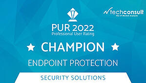 Techconsult: Professional User Rating Security Solutions 2021- DriveLock is Champion in Endpoint Protection