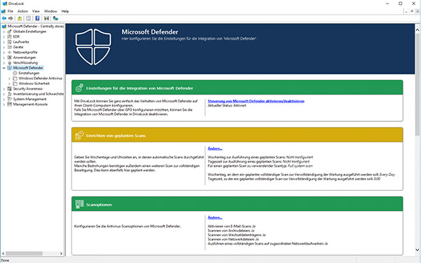 Microsoft Defender AV Management - easy configuration