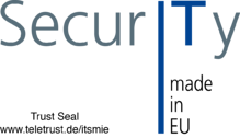 Teletrust IT Security made in EU Logo
